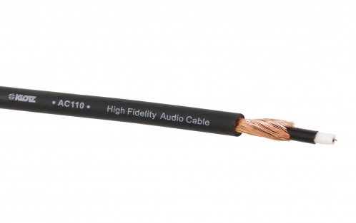 Klotz AC110 SW kabel instrumentalny (czarny), następca LaGrange GY107