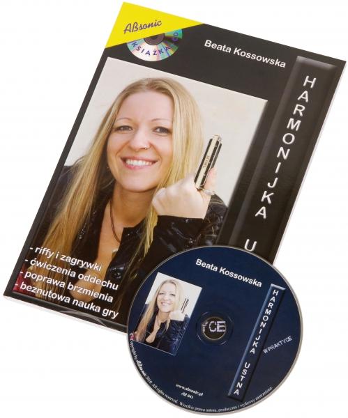 """AN Kossowska Beata """"Harmonijka ustna w praktyce"""" książka + CD"""