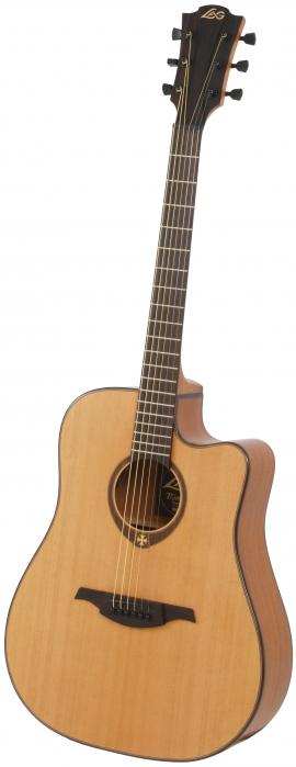 Lag GLA-T200-DCE gitara elektroakustyczna Tramontane