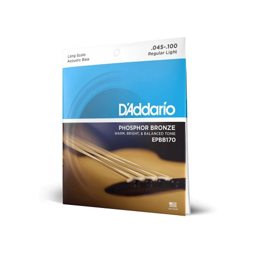 D'Addario EPBB-170 struny do gitary basowej 45-100