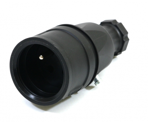 PCE gniazdo gumowe nakablowe 16A/230V IP20