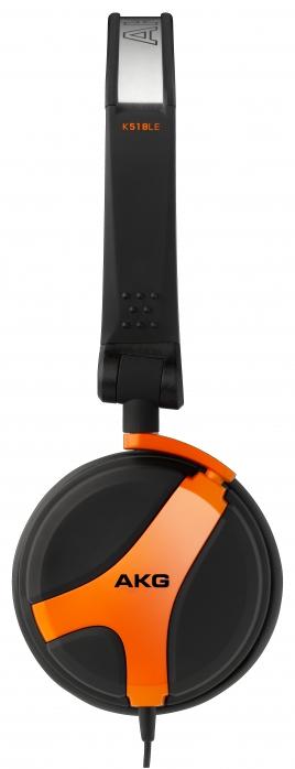 AKG K518 LE Limited Edition (32 Ohm) s�uchawki zamkni�te (pomara�czowe), przew�d 0,6m