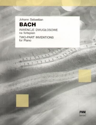 PWM Bach Johann Sebastian - Inwencje dwugosowe na fortepian