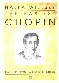 PWM Chopin Fryderyk - Najatwiejszy Chopin na fortepian