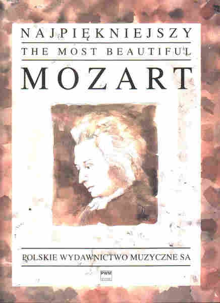 PWM Mozart Wolfgang Amadeus - Najpikniejszy Mozart na fortepian