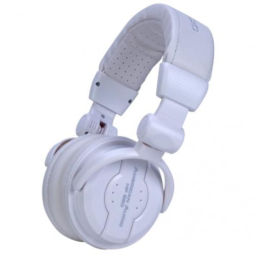 American Audio HP550 Snow słuchawki DJ białe