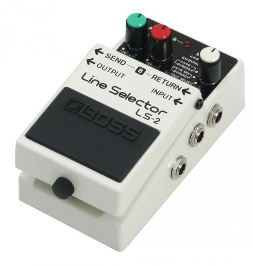 BOSS LS-2 Line Selector przełącznik
