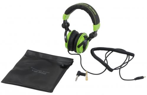 American Audio HP550 Lime słuchawki DJ limonkowe