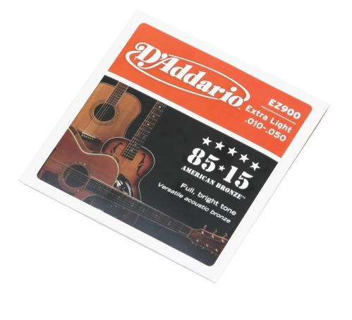 D′Addario EZ 900 struny do gitary akustycznej 10-50