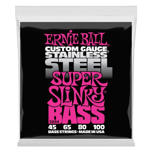 Ernie Ball 2844 Stainless Steel Bass struny do gitary basowej 45-100
