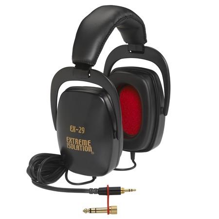 Extreme Isolation (32 Ohm) EX-29B słuchawki zamknięte, kolor czarny