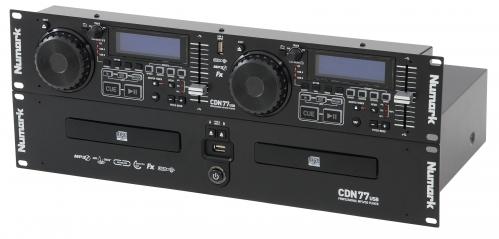 Numark CDN-77 USB - podwójny odtwarzacz CD/CD-R /  MP3 / USB