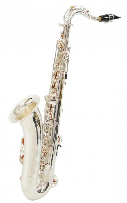Yamaha YTS 875 EXS profesjonalny saksofon tenorowy, posrebrzany (z futerałem)