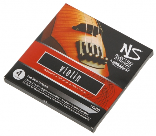 D'Addario  NS 310 struny do skrzypiec elektrycznych 4/4 (medium)