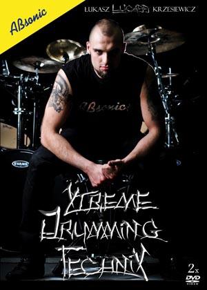 """AN Łukasz """"LUCASS"""" Krzesiewicz """"Xtreme Drumming Technix"""" szkoła gry na perkusję"""