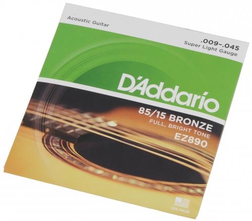 D′Addario EZ 890 struny do gitary akustycznej 9-45