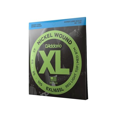 D'Addario EXL 165 SL struny do gitary basowej 45-105 Super Long Scale
