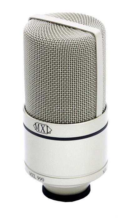 MXL 990 mikrofon pojemnociowy
