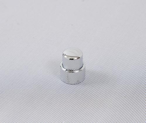 AN WSC NC 003 CR gałka podwójna do potencjometru metalowa chromowana