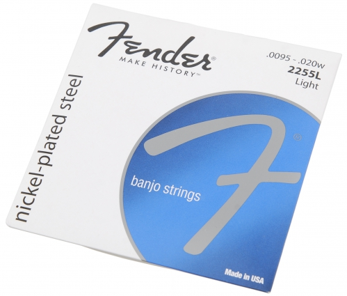Fender 2255L nickel plated struny do banjo 095/010/013/020/095
