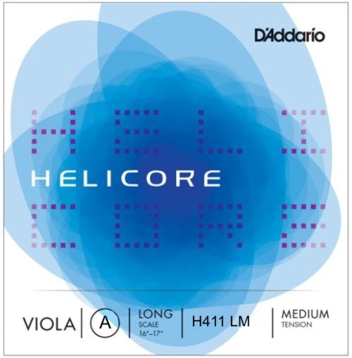 D'Addario Helicore H-411 Long Scale struna A do altówki (medium)