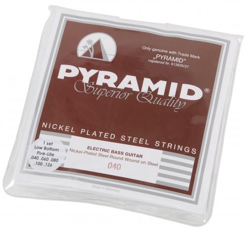 Pyramid 974  LB Five Nickel Steels struny do gitary basowej 45-105 - WYPRZEDAŻ