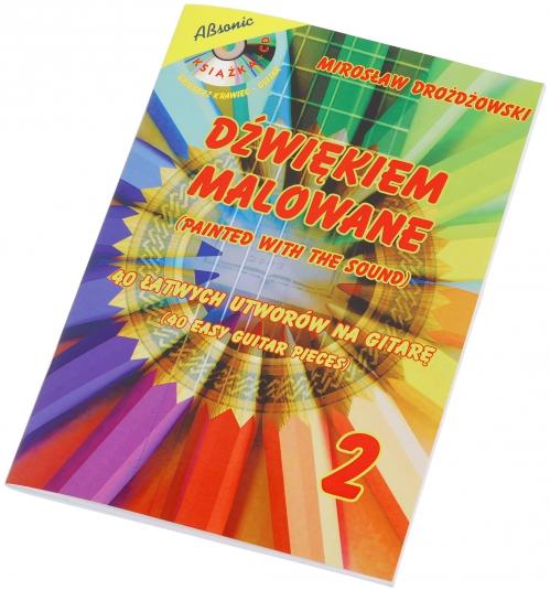 """AN Drożdżowski Mirosław """"Dźwiękiem malowane 2""""  książka + CD"""