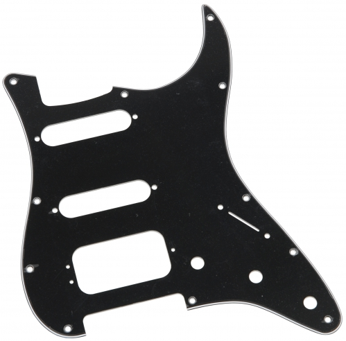 Fender HSS B/W/B płytka maskująca