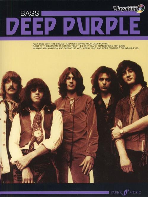 PWM Deep Purple - Bass playalong (utwory na gitarę basową + CD)