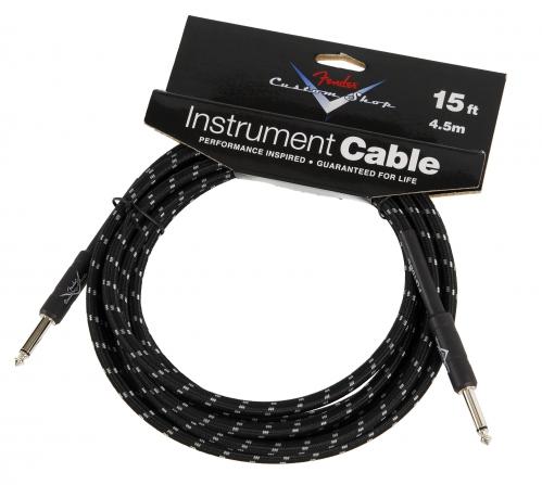 Fender Custom Shop Black Tweed kabel gitarowy 4,5m