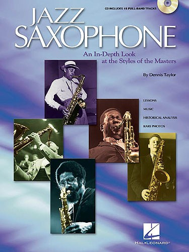 PWM Taylor Dennis - Jazz saxophone. An in-depth look at the styles of the tenor masters (+ CD)
