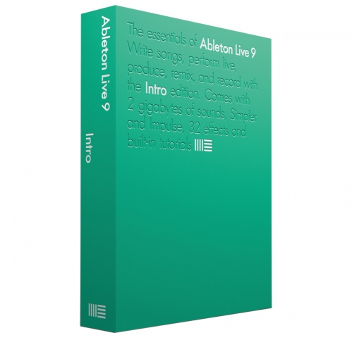 Ableton Live 9 Intro program komputerowy (BOX)