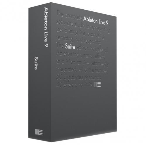 Ableton Live 9 Suite EDU program komputerowy (BOX), wersja edukacyjna