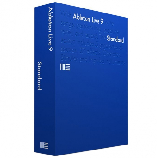 Ableton Live 9 Upgrade z Intro do Standard program komputerowy (BOX)