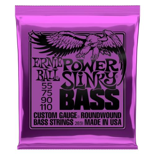 Ernie Ball 2831 NC Power Slinky Bass struny do gitary basowej 55-110