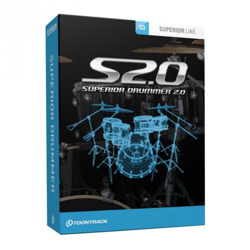 Toontrack Superior Drummer 2.0 instrument wirtualny