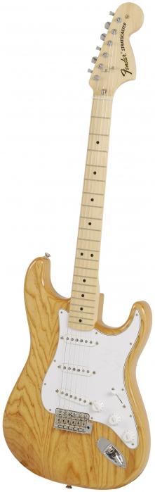 Fender 70′S Stratocaster natural gitara elektryczna, podstrunnica klonowa
