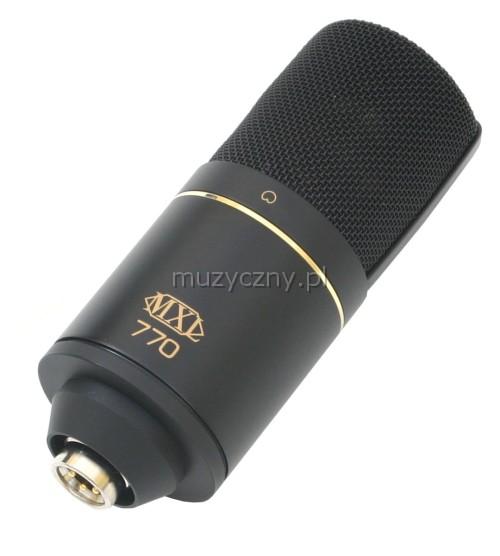 MXL 770 Mogami mikrofon pojemnociowy