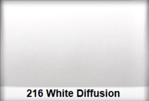 Lee 216 Full White Diffusion filtr folia - arkusz 50 x 60 cm