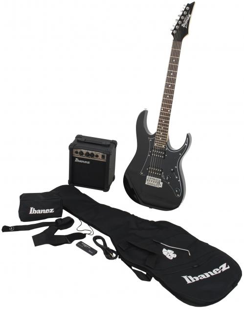 Ibanez IJRG 200 BK Jumpstart gitara elektryczna + wzmacniacz + pokrowiec