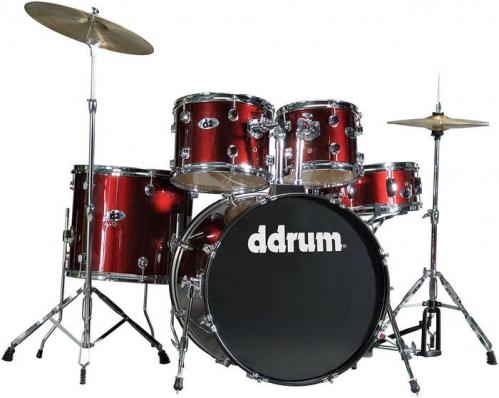 DDrum D2 Blood Red zestaw perkusyjny
