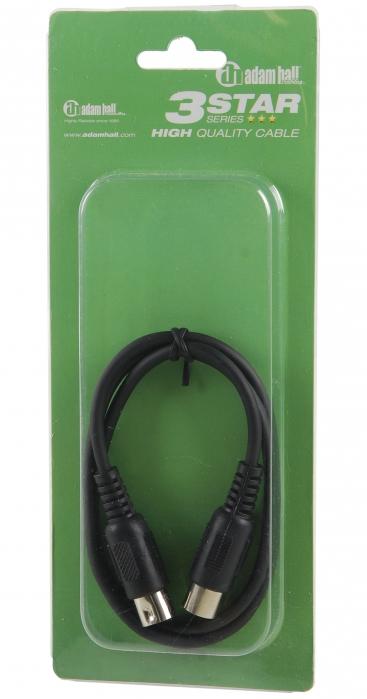 Adam Hall K3 MIDI 0150 BLK kabel MIDI 1,5m (czarny)