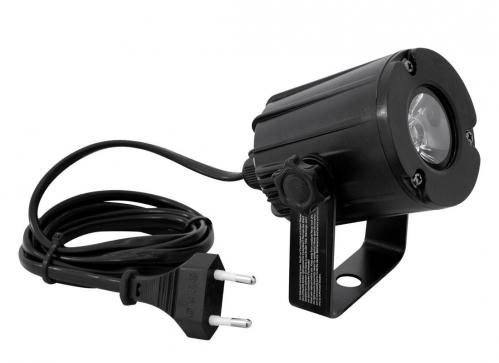 Eurolite LED Pinspot PST-3W 3200K 6st. czarny - oświetlacz kuli