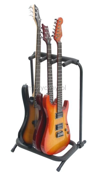 Rockstand 20860 statyw na 3 gitary