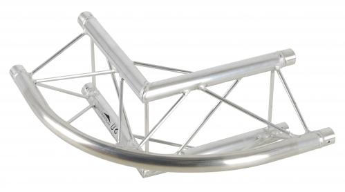 DuraTruss DT 23-C24R-L90 element konstrukcji aluminiowej - narożnik 90st. zaokrąglony