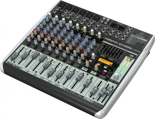 Behringer Xenyx QX1222 USB mikser audio