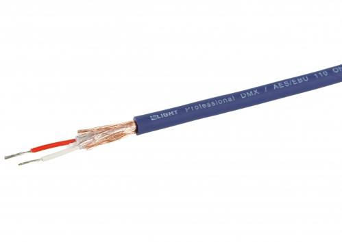 MLight DMX / AES/EBU 520-0101 1 pair 110 Ohm kabel DMX