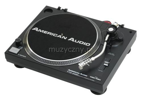 American Audio TTD2400 gramofon DJ