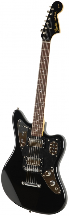 Fender Jaguar HH Blk gitara elektryczna, podstrunnica palisandrowa