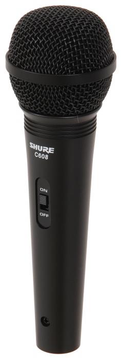 Shure C608 N mikrofon dynamiczny